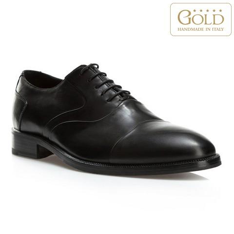 Кожаные мужские туфли, черный, BM-B-578-1-40, Фотография 1