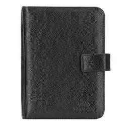 Органайзер кожаный для документов, черный, 21-5-003-1, Фотография 1