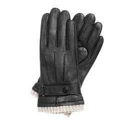 Перчатки мужские, черный, 39-6-710-1-V, Фотография 1
