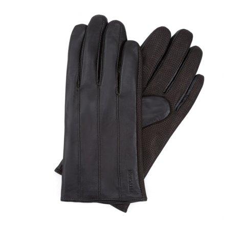 Перчатки мужские, черный, 39-6L-342-1-S, Фотография 1