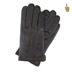 Перчатки мужские, черный, 39-6L-908-1-X, Фотография 1