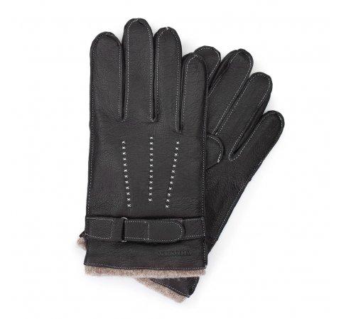 Перчатки мужские, черный, 44-6-716-BB-V, Фотография 1