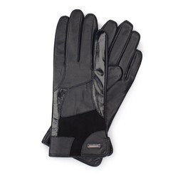 Перчатки женские, черный, 39-6-575-1-X, Фотография 1