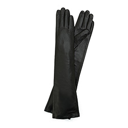 Перчатки женские, черный, 45-6L-230-1-M, Фотография 1