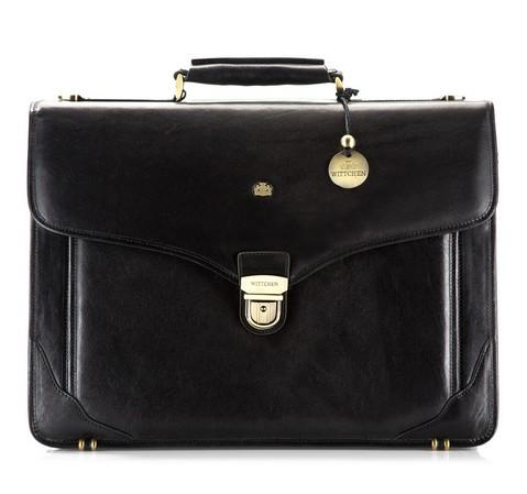 Портфель, черный, 10-3-012-4, Фотография 1