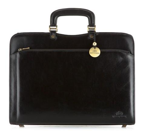 Портфель, черный, 21-3-053-44, Фотография 1