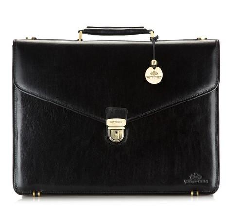 Портфель, черный, 21-3-143-4, Фотография 1