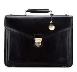 Портфель, черный, 21-3-145-1, Фотография 1