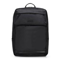 Современный мужской рюкзак для ноутбука 15,6'''', черный, 89-3P-103-1, Фотография 1
