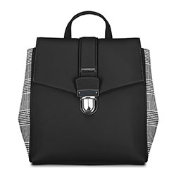 Рюкзак женский, черный, 90-4Y-610-1, Фотография 1