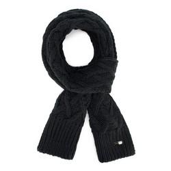 Шарф женский, черный, 89-7F-003-1, Фотография 1