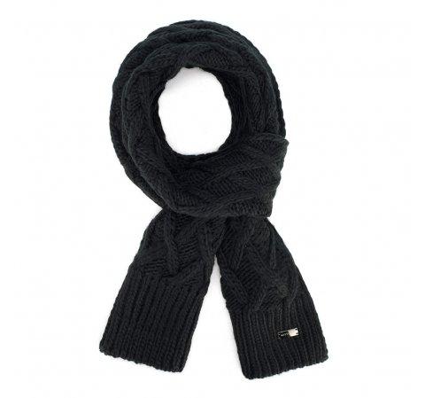 Шарф женский, черный, 89-7F-003-5, Фотография 1