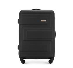 Средний чемодан, черный, 56-3A-632-10, Фотография 1