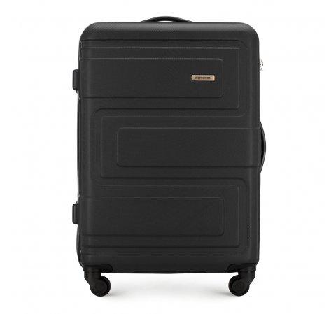 Средний чемодан, черный, 56-3A-632-85, Фотография 1