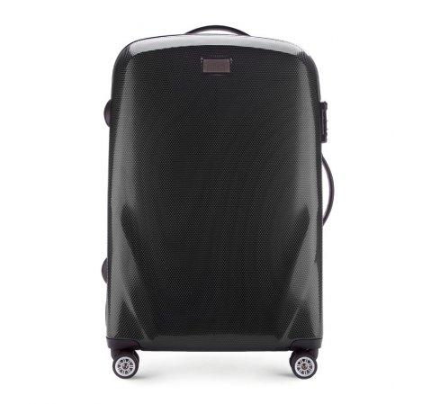 Средний чемодан, черный, 56-3P-572-10, Фотография 1