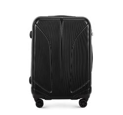 Средний чемодан, черный, 56-3P-812-10, Фотография 1