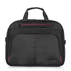 Мужская сумка для ноутбука 15,6 basic, черный, 56-3S-633-1A, Фотография 1