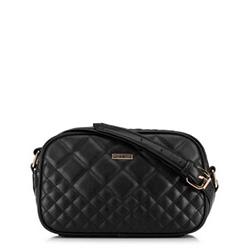 Женская сумка через плечо, черный, 91-4Y-614-1, Фотография 1