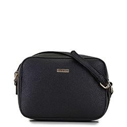 Женская сумка-коробочка через плечо., черный, 29-4Y-006-1, Фотография 1