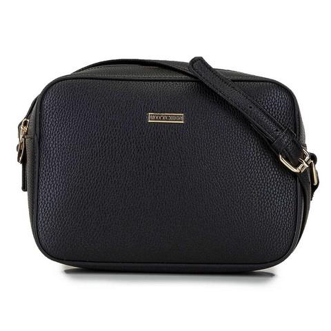Женская сумка-коробочка через плечо., черный, 29-4Y-006-01, Фотография 1