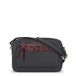 Женская сумка через плечо, черный, 91-4Y-205-1, Фотография 1