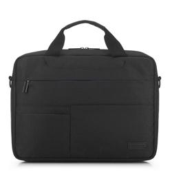 Сумка для ноутбука с контрастными карманами, черный, 91-3P-704-12, Фотография 1