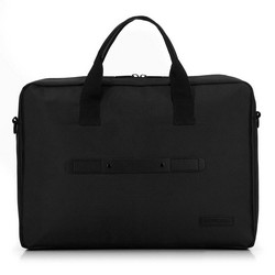 Большая сумка для ноутбука 17 дюймов с ремнем спереди, черный, 91-3P-701-1, Фотография 1