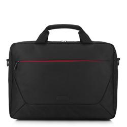 Сумка для ноутбука 15,6 с цветной молнией, черный, 91-3P-707-12, Фотография 1