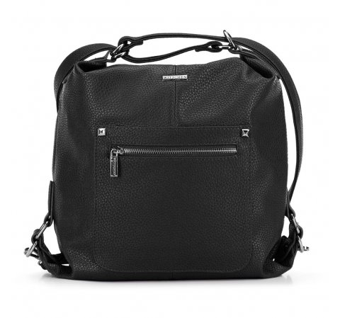 Женская сумка, черный, 91-4Y-615-1, Фотография 1