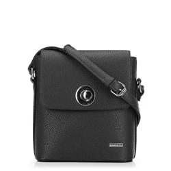 Женская сумка через плечо, черный, 91-4Y-611-1, Фотография 1