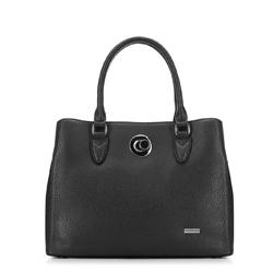 Женская сумка-шоппер, черный, 91-4Y-610-1, Фотография 1
