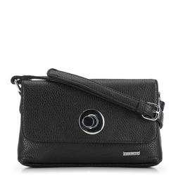 Женская сумка через плечо, черный, 91-4Y-612-1, Фотография 1