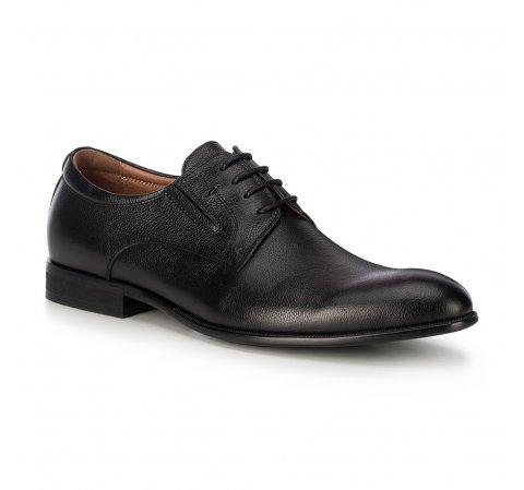 Мужские кожаные туфли, черный, 91-M-908-1-44, Фотография 1
