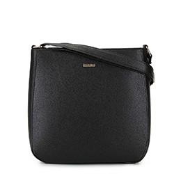 Женская  трапециевидная сумка через плечо, черный, 29-4Y-005-1, Фотография 1