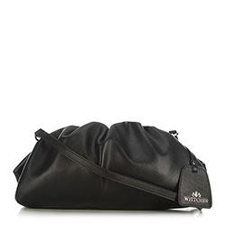 Женская кожаная сумка, черный, 91-4E-627-1, Фотография 1