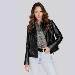 Женская куртка с регулируемой шириной, черный, 93-9P-110-1-2XL, Фотография 1