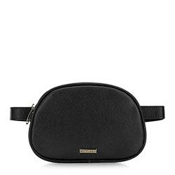 Женская сумка на пояс, черный, 91-4Y-306-1, Фотография 1