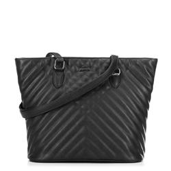 Женская сумка-шоппер, черный, 91-4Y-606-1, Фотография 1