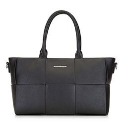 Женская сумка среднего размера, черный, 91-4Y-408-1, Фотография 1
