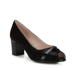 Женские туфли-лодочки, черный, 88-D-965-1-37, Фотография 1