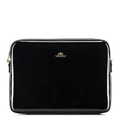 Женский чехол для ноутбука 15,6 дюйма, лакированная кожа | WITTCHEN, черный, 25-2-517-1, Фотография 1