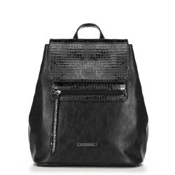 Женский рюкзак, черный, 90-4Y-403-1, Фотография 1