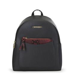 Женский рюкзак с кошельком, черный, 91-4Y-203-1, Фотография 1