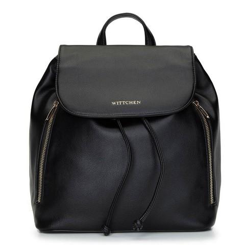 Женский рюкзак мешок на затяжках, черный, 92-4Y-561-Z, Фотография 1