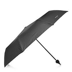 Зонт с открывающейся ручкой, черный, PA-7-180-1, Фотография 1