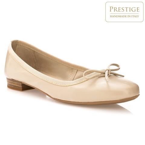 Damen Ballerina Schuhe, Creme, 84-D-800-9-36, Bild 1