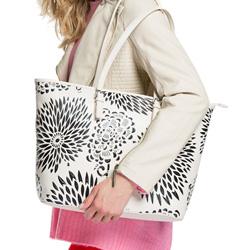Damentasche, creme-schwarz, 86-4Y-203-0, Bild 1