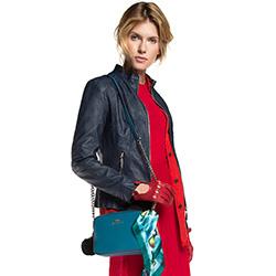 Damentasche, dnkeltürkis, 86-4E-459-Z, Bild 1