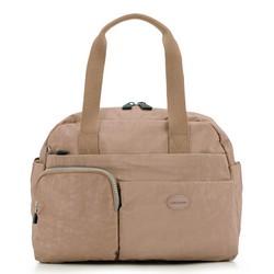 Damen Handtasche, dunkelbeige, 86-4Y-902-9, Bild 1