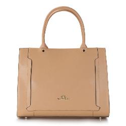 Damentasche, dunkelbeige, 86-4E-420-9, Bild 1